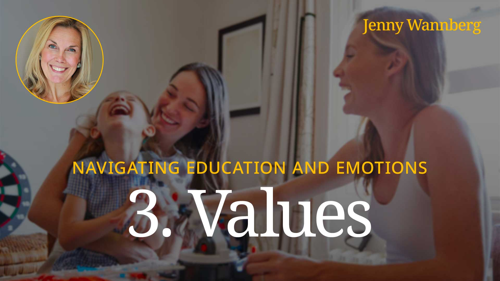 Navigating Education and Emotions - Lesson 03 - Values